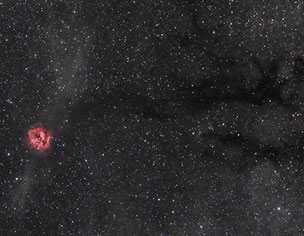 Cocoon Nebula area