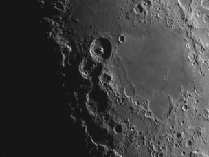 Crater Theophilius and the Sea of Nectar