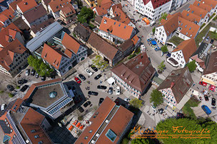 Luftbildaufnahme Kitzingen mobil