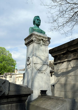 Friedhof Montparnasse, Paris