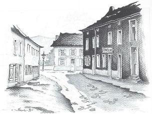 Unterer Teil der Thillsgaass - Grand-Rue
