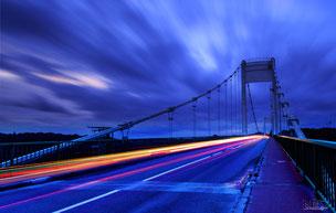 La roche bernard bridge by nd