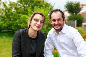 Céline et Alexandre Couillon, La Marine, by ND