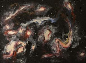Verschlungene Galaxien