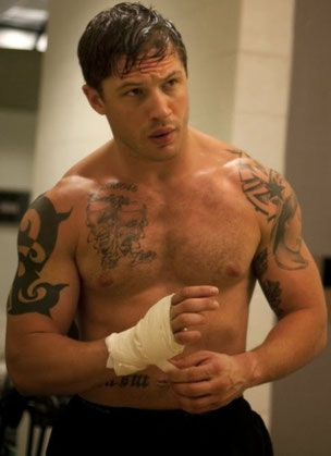 This week our pick is Tom Hardy.  Look for him in Mad Max-Fury Road in May 2015.