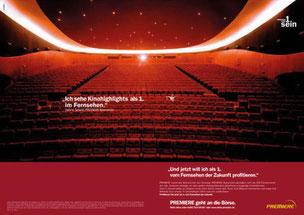 Premiere Börsengang | Goldammer | Text & Konzept | Print und TV