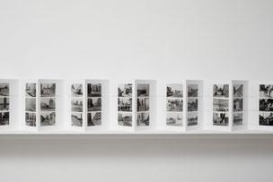 Ulrich Wüst - Leporello Stadtbilder 1979-1987, Dezember 2004 21,0 x 14,8 cm © Ludger Paffrath