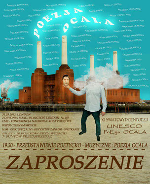 XII. UNESCO World Poetry Day / Poezja Londyn & u.a. Botschaft der Republik Polen und Krzysztof Zanussi / London, England 2012