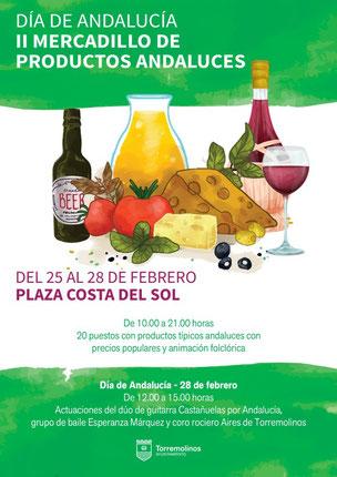 Programa del Mercado de Productos Andaluces en Torremolinos