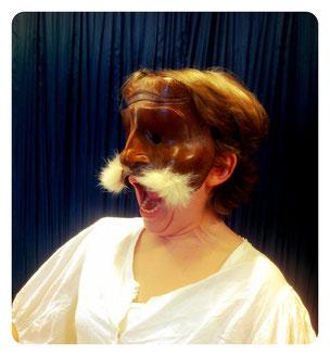 Brighella, Sartori Mask, Commedia dell'Arte
