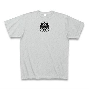 送料無料 トライバルフラワー(蓮)Tシャツ