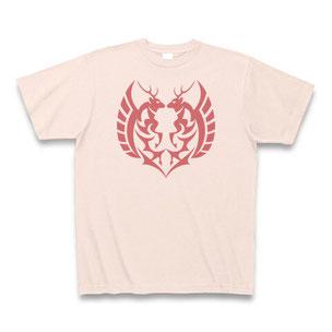 送料無料 鹿マークTシャツ