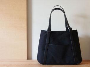 track sector bag - ダックxレザーバッグ  ¥31,000