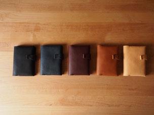 krono - A6サイズ手帳(文庫本)カバー  ¥11,000