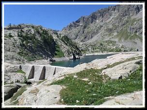 Lacs Vert, Noir et du Basto (Mercantour)