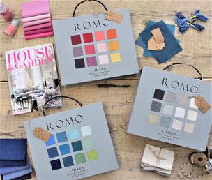 """De """"ster"""" van Romo fabrics;   stof Linara"""