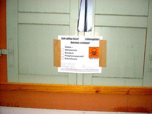Einsatz von lebensgefährlichem Sulfurylfluorid