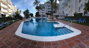 Ferienwohnung am Strand von Marbella, Andalusien