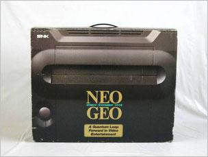 「Neo Geo AES」の元箱