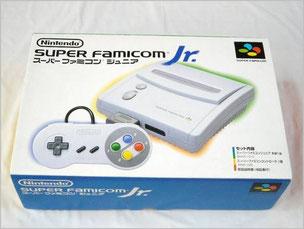「スーパーファミコン Jr.」の元箱