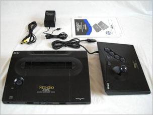 Neo Geo Aes(ネオジオROMカセット用の本体)