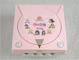 桜色ドリキャス本体のデザイン