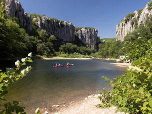 Canoe Kayac in Gorges du Chassezac