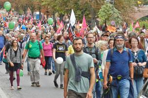 Франкфурт демонстрация