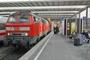 Мюнхен вокзал поезд