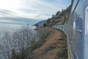 Baikal Sonderzug Baikalbahn