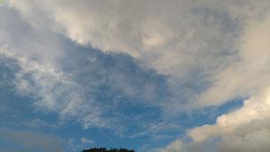 お盆休み最終日。               明日から台風により暴風雨のようですので、皆さまお気を付けください。