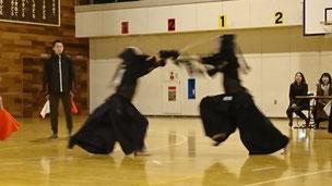 中学生の試合 剣道