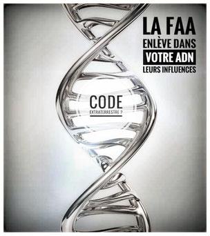 code,extraterrestre,adn,faa,influences