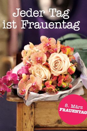 Blumen Internationaler Frauentag | Tag der Frau