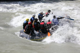 Sanna Rafting Tirol
