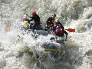 Rafting extrem Tirol Ötztal