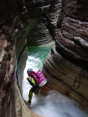 Belluno canyoning schluchten auslandsreisen wasser abenteuer