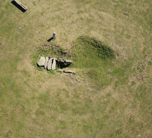 Steinkistengrab mit Dolmengöttin in Langeneichstädt