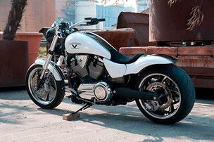 Lackierung einer Harley Davidson