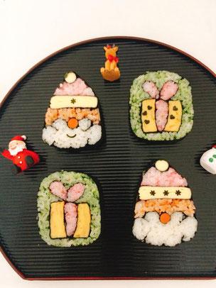 バージョンいろいろ飾り巻き寿司