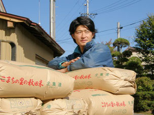 石見三内の生産者・田口さん