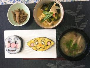 キャラ寿司(飾り巻き寿司)