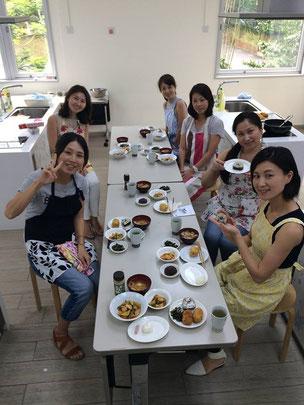 日本人会での授業風景