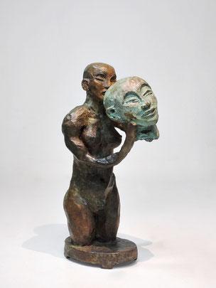 Figur 269, Bronze, 2015, 25,5x10x14cm