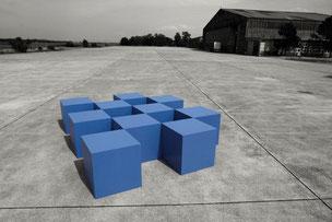 Bild: Sitzwürfel gefertigt von der Schreinerei Schmälzle