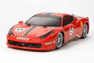 Ferrari als RC Modell im Maßstab 1:10 der Firma Tamiya