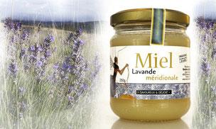 pot de miel de lavande de bastien alise apiculteur