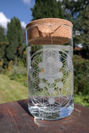 Krug 1,5L Blume des Lebens - Kabbala - 39€