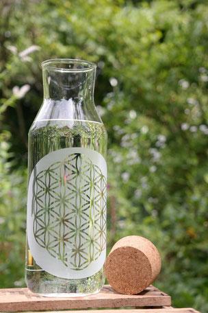 Karaffe kanne krug wasser-kanne wasser geschenk individuell