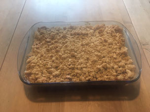 Rezept für Birnencnumble nach Lungauer Art